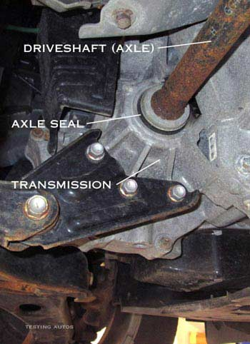 When Does The Axle Seal Need To Be Replaced In A Car