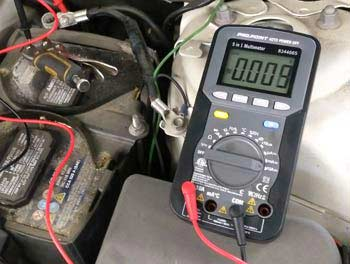 Battery Current Draw on Low Battery Circuit