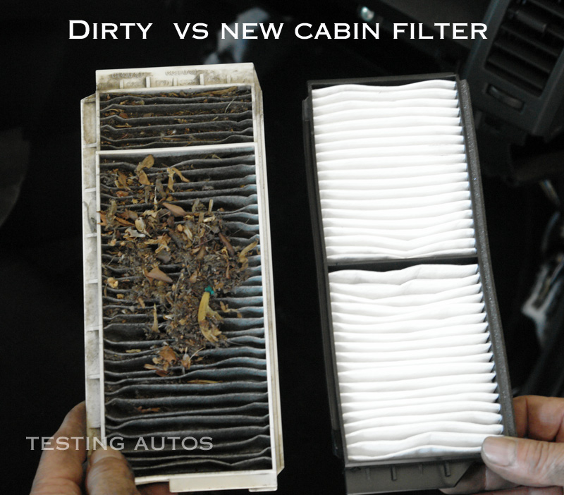 dirty vs clean cabin_filter