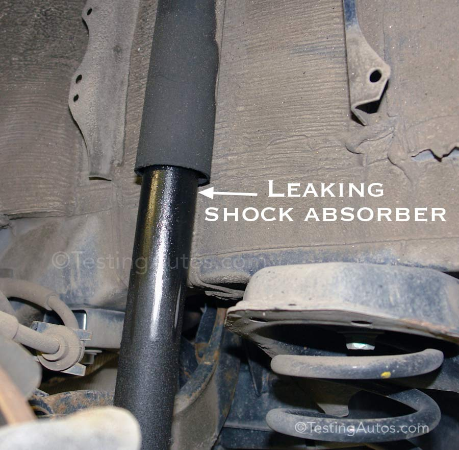 When Struts And Shock Absorbers Should Be Replaced