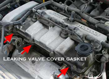 Leaking valve cover gasket