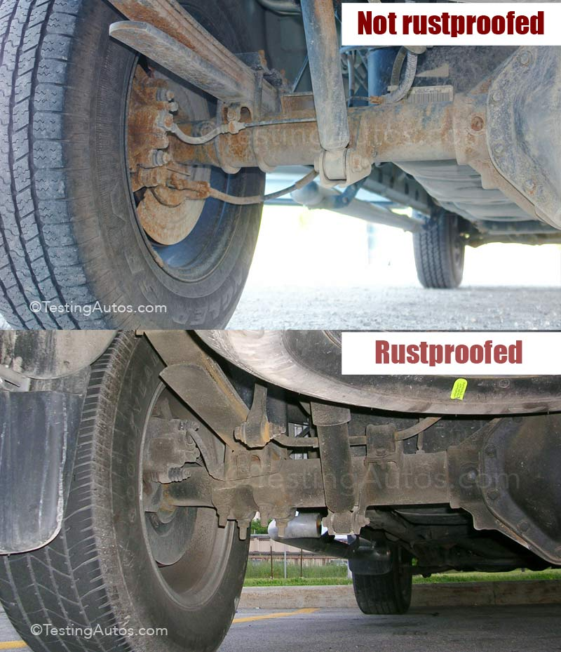 Electronic Rust Protection Undercoating Automotive Corrosion Control Warranty