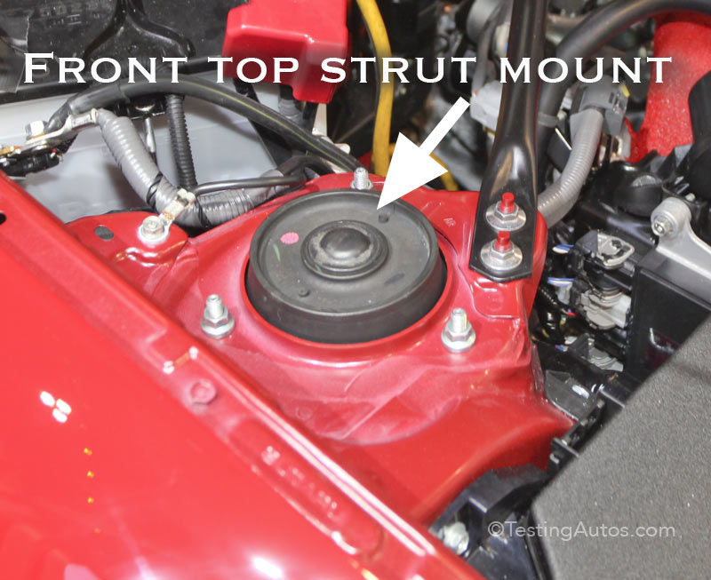 Wheel Bearing Noise >> Top strut mounts and upper shock mounts: when to replace?