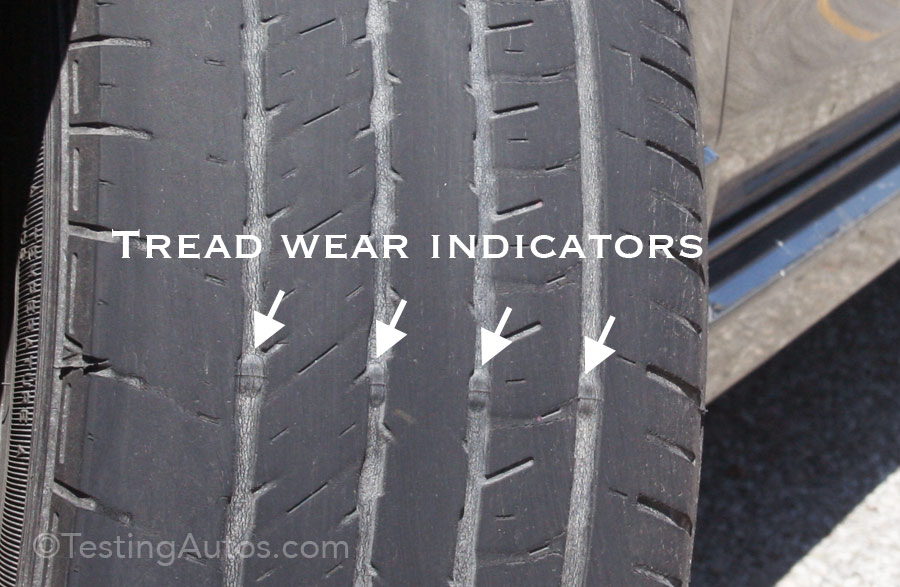 Tire Tread Wear >> When Should Tires Be Replaced
