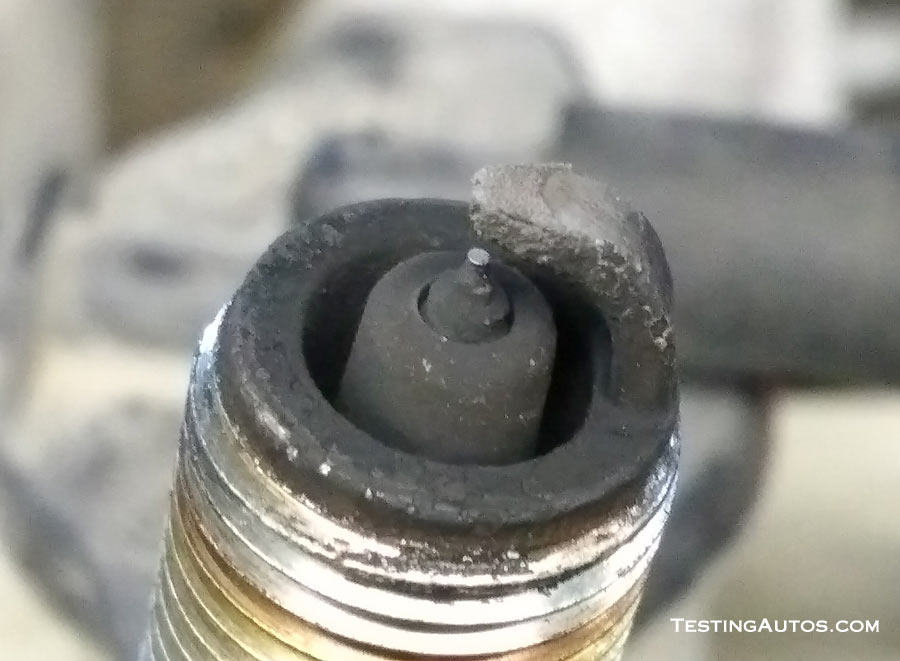 Worn Out Spark Plug