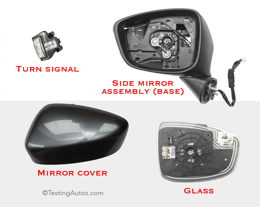 Side Mirror Repair >> Broken Side Mirror What Are The Repair Options And Cost