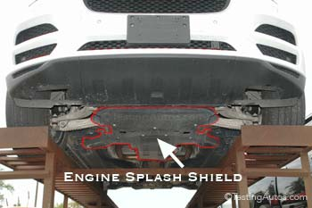 Broken/missing engine splash shield or fender liner: repair ... on