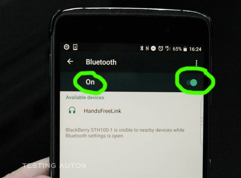 Why a phone won't pair with a car Bluetooth