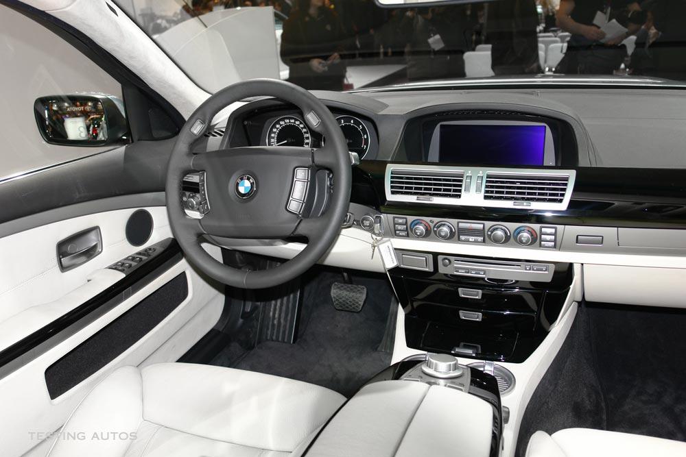 BMW 7 Series 2007 Interior