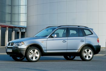 Introduced To North America For The 2004 Model Year, The X3 Is A Small SUV  Based On The 3 Series With Crisp Handling And Firm Ride.