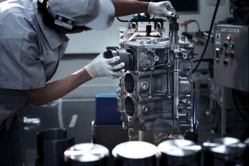 Takumi working on Nissan GT-R engine