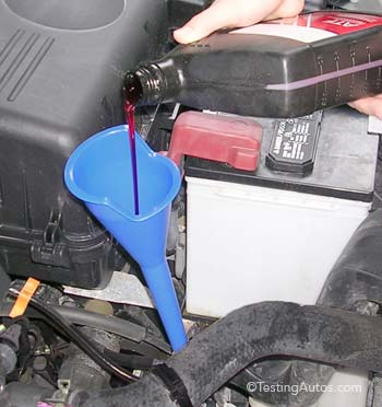 Transmission fluid change